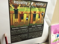Equality vs Equity.