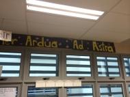 Classroom phrase.